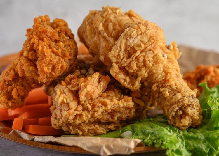 Pollo Frito Vegano Extra Crujiente Por Fuera Y Jugoso Por Dentro