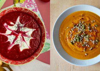 Recetas nutritivas de sopas saludables para tus almuerzos sanos y noches reconfortantes