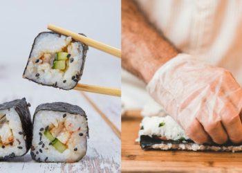 Cómo hacer rolls (rollos de sushi) con arroz