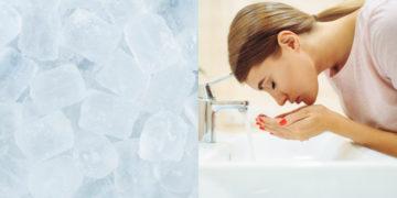 beneficios del hielo en la piel