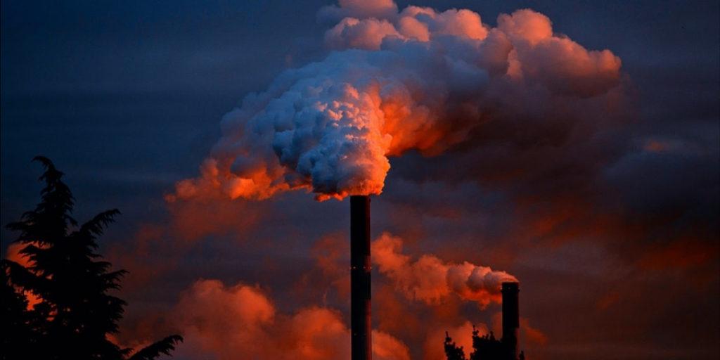 Disminución del dióxido de carbono por el COVID-19