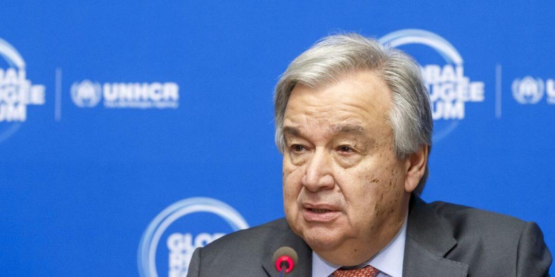 El secretario General de la ONU, Antonio Guterres. Foto: EFE