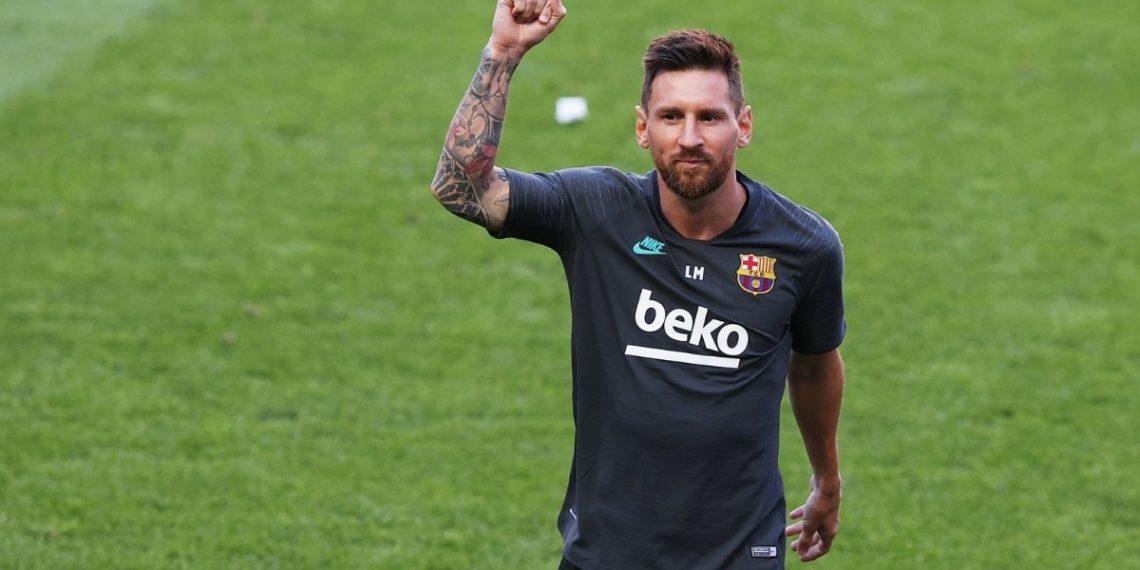Messi de vuelta en las redes
