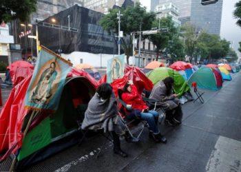 Protestas y López Obrador