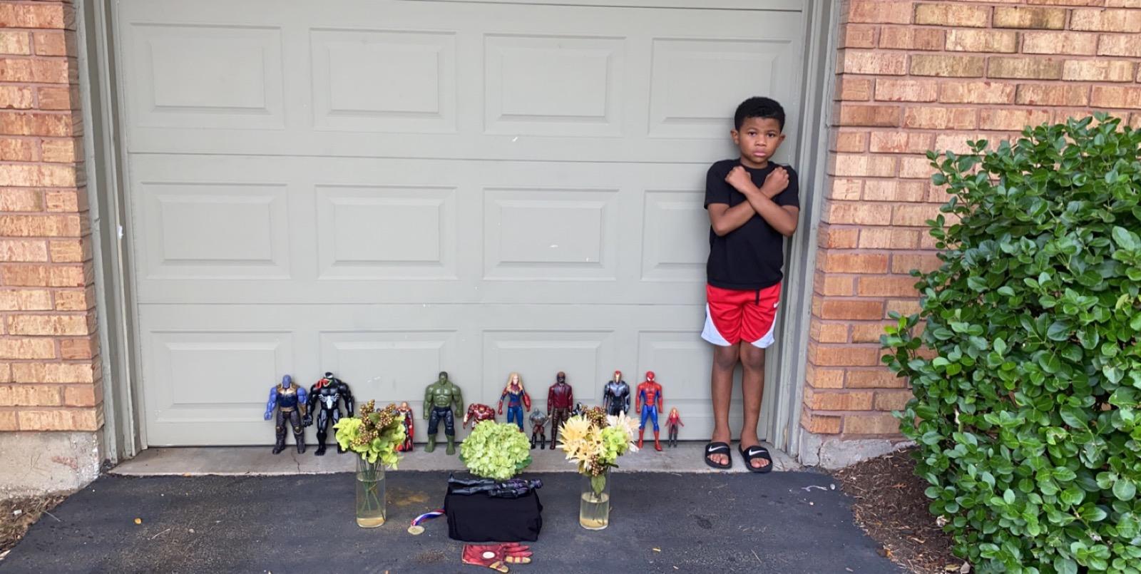 niños homenaje