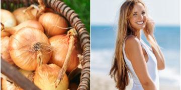jugo de cebolla / crecer el cabello