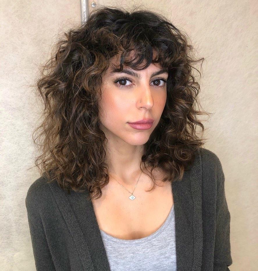 cabellos ondulados