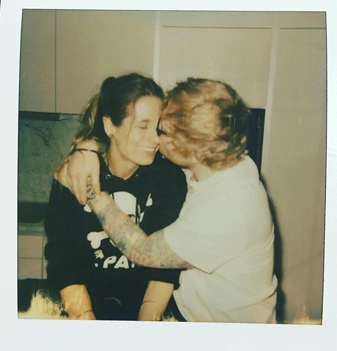 Ed Sheeran y Cherry Seaborn