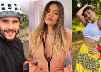 Juan Pablo Raba, Karol G y Martina la peligrosa. Foto: Instagram @juanpabloraba @karolg @martinalapeligrosa