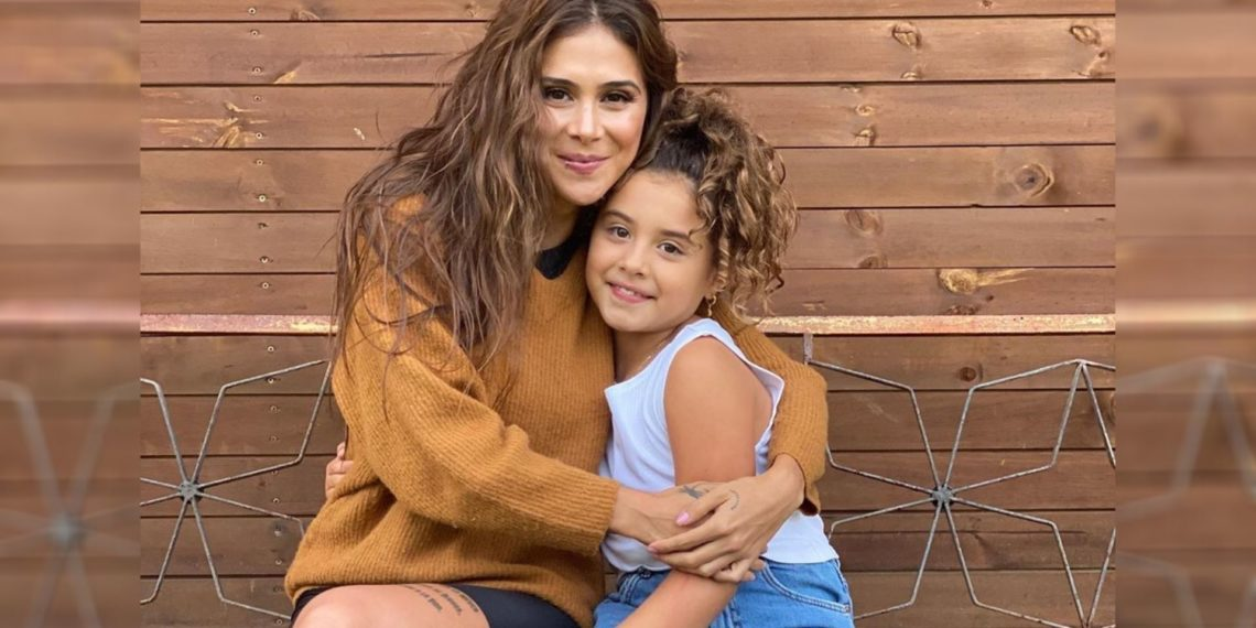 Greeicy Rendón e hija de James Rodríguez