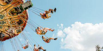 Atracción parque de diversiones