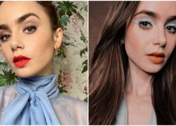 looks de maquillaje de Lily Collins
