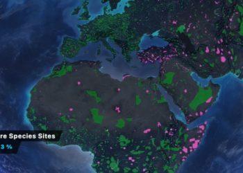 Mapa cambio climático