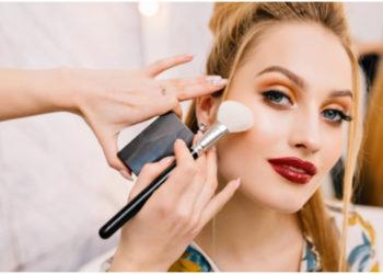 como maquillaje