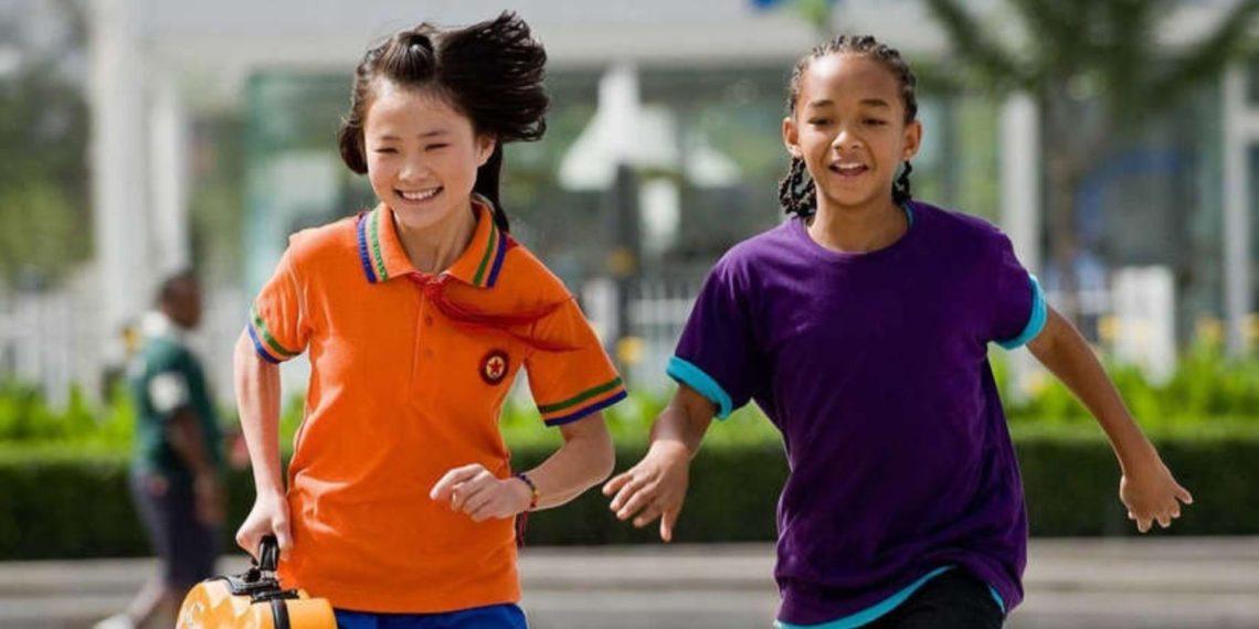 Mei Ying, la niña de Karate Kid