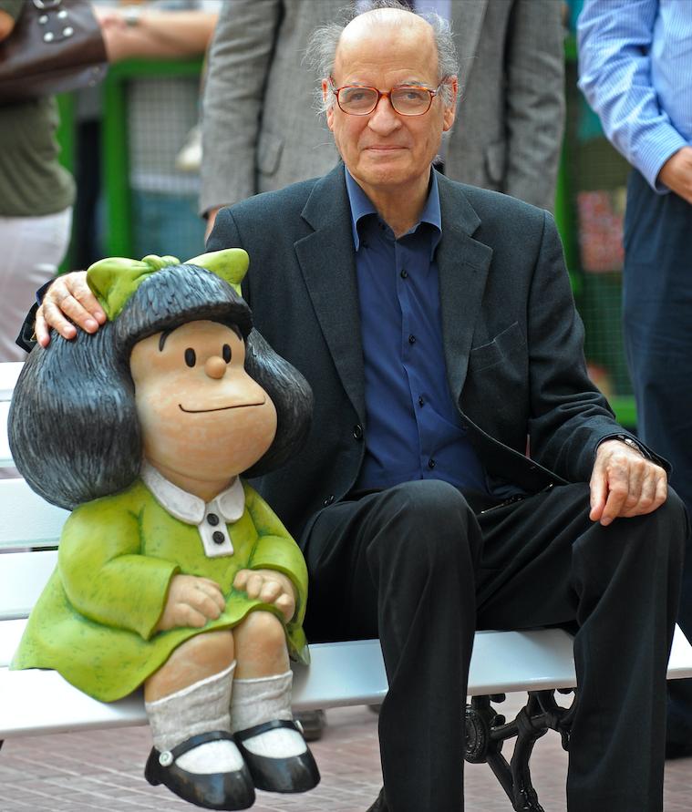 Muere Quino el creador de Mafalda