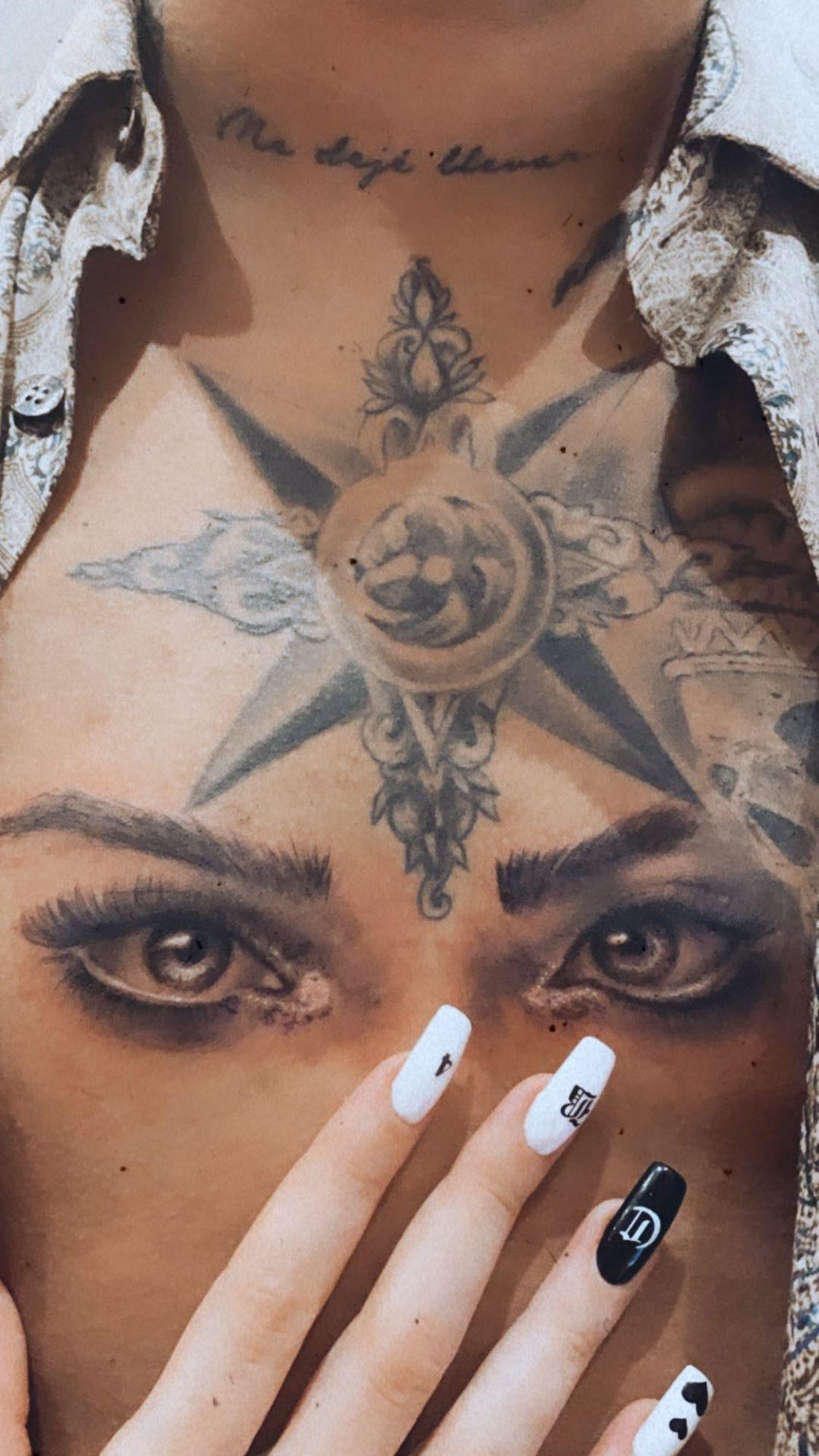 Tatuaje de Christian Nodal