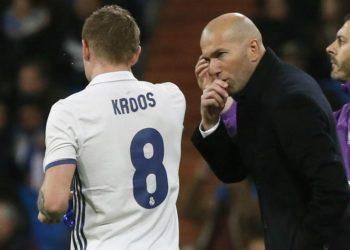 «Cuando me retire, diré que entrené a Toni Kroos»: dice Zinedine Zidane