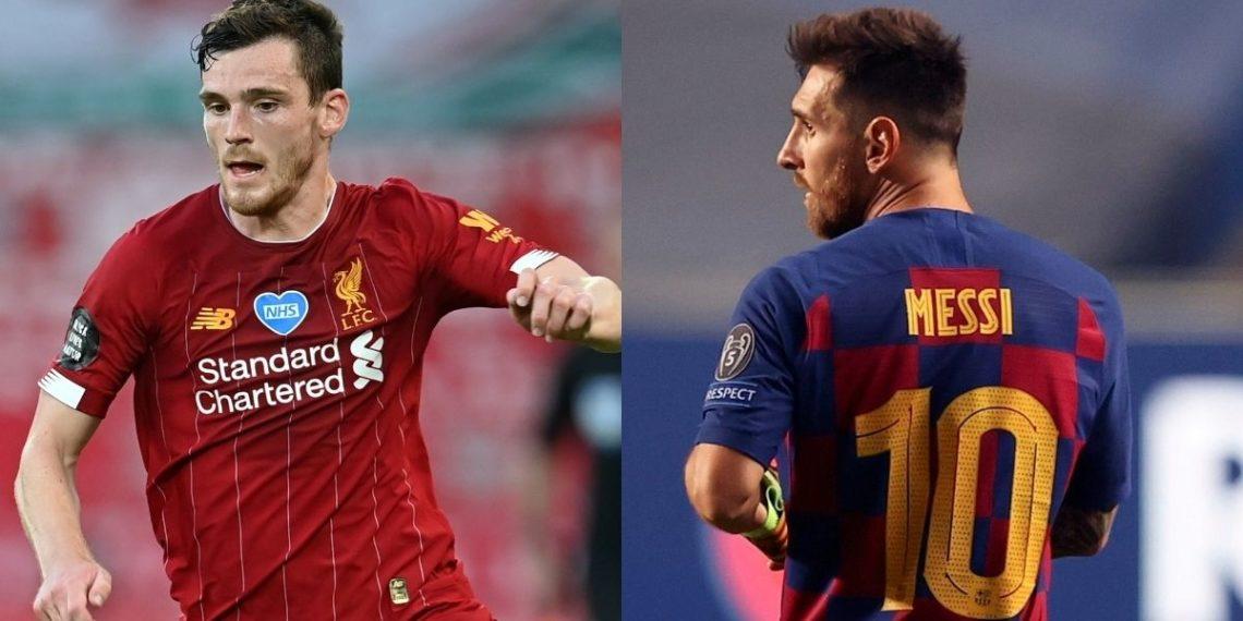 «¿Messi a la Premier? No lo quiero ni cerca»: dice Andrew Robertson