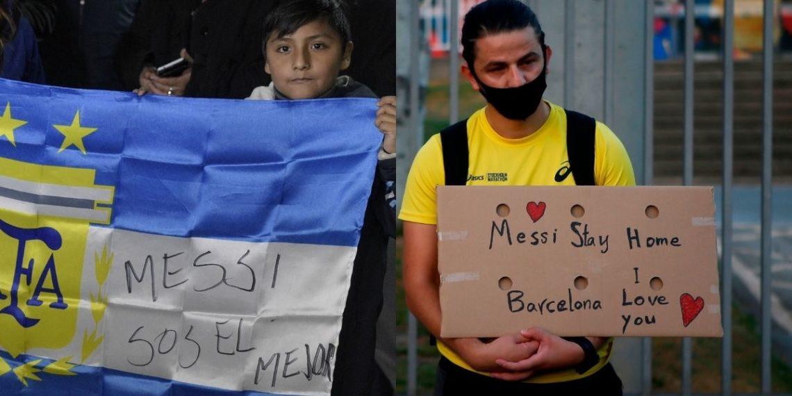"""Messi, la selección y Barcelona: dos """"renuncias"""", dos regresos"""