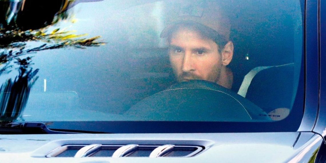 Messi se une al grupo de Koeman en entrenamientos de Barcelona