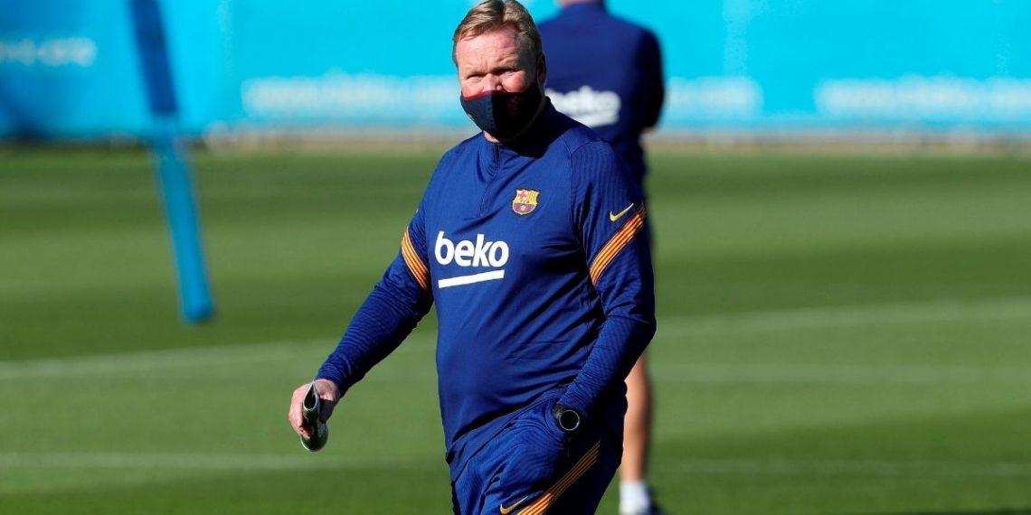Ronald Koeman habla sobre Lionel Messi después de verlo entrenar