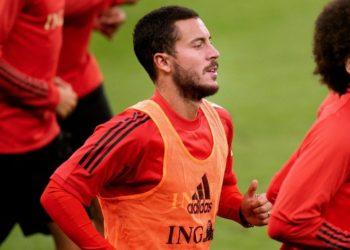 Cuestionan estado físico de Hazard y el Real Madrid responde con foto