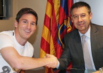 Bartomeu a Messi: «las cosas se hablan en casa, no públicamente»