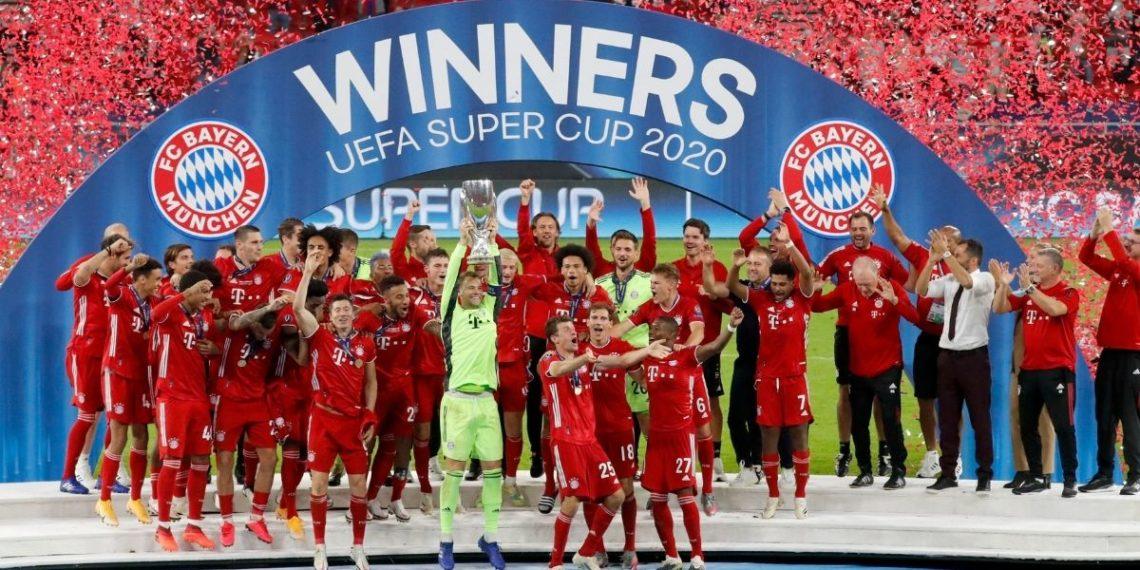 Bayern Múnich es el campeón de la Supercopa de Europa