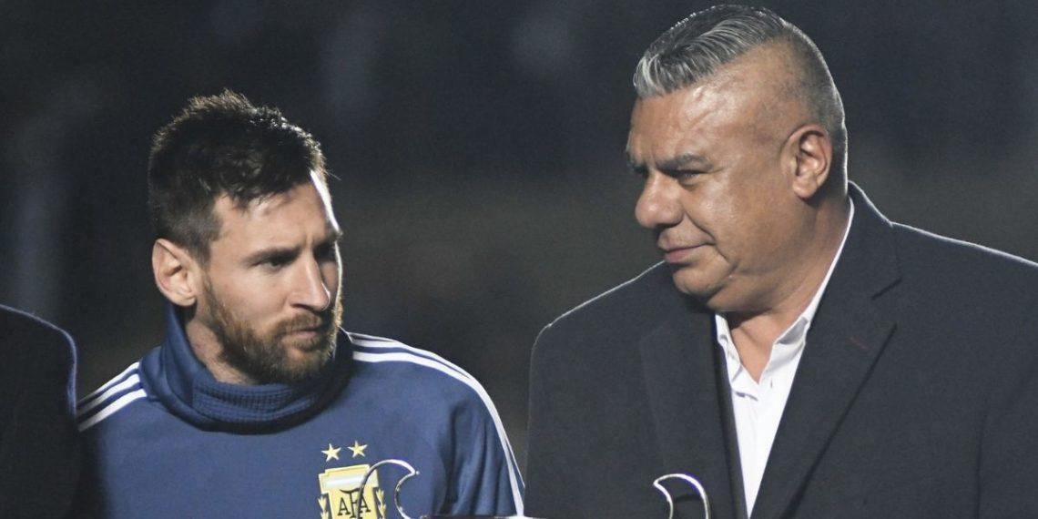 «Barcelona ha sido muy injusto con Messi»: dice el presidente de la AFA