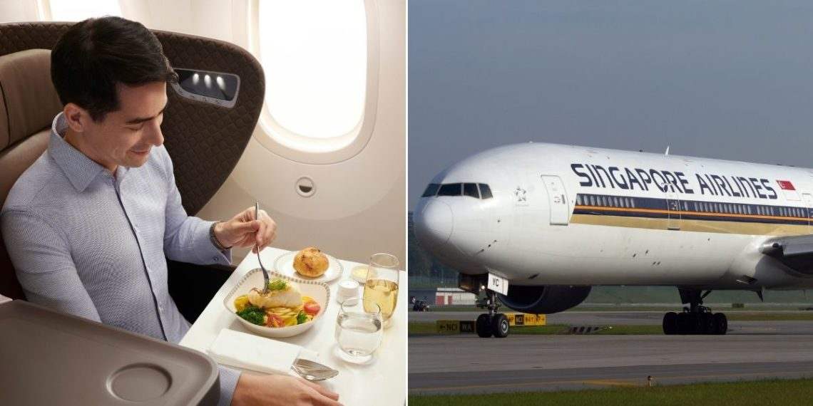 Singapore Airlines transforma sus aviones en restaurantes