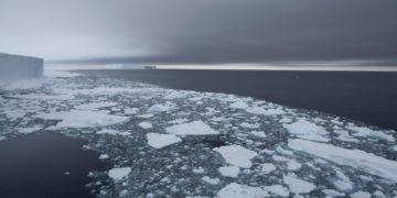 calentamiento global en el océano Antártico