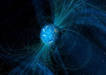 Campo magnético de la Tierra y la Luna