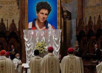 Beatifican en Asís, Italia a Carlo Acutis