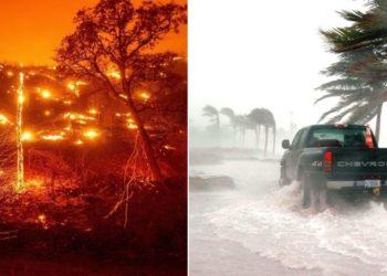 Catástrofes naturales por el cambio climático