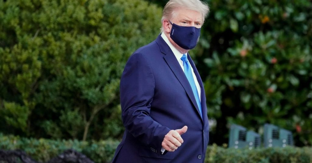 Trump da positivo al coronavirus