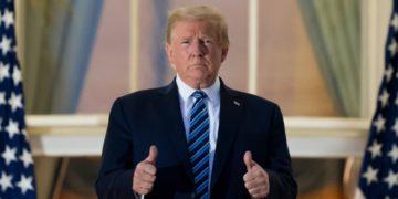 contagio de COVID -19 de Donald Trump