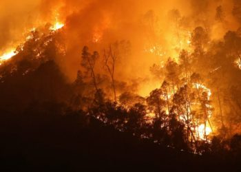 Incendios forestales en California