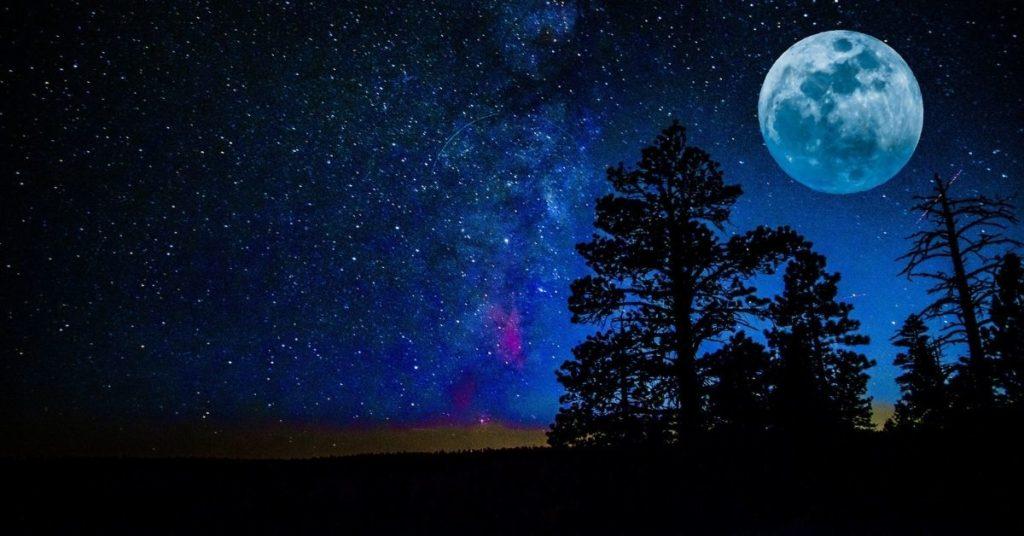 la noches en la Tierra.