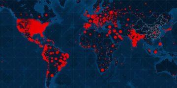 contagios del COVID-19 en el mundo