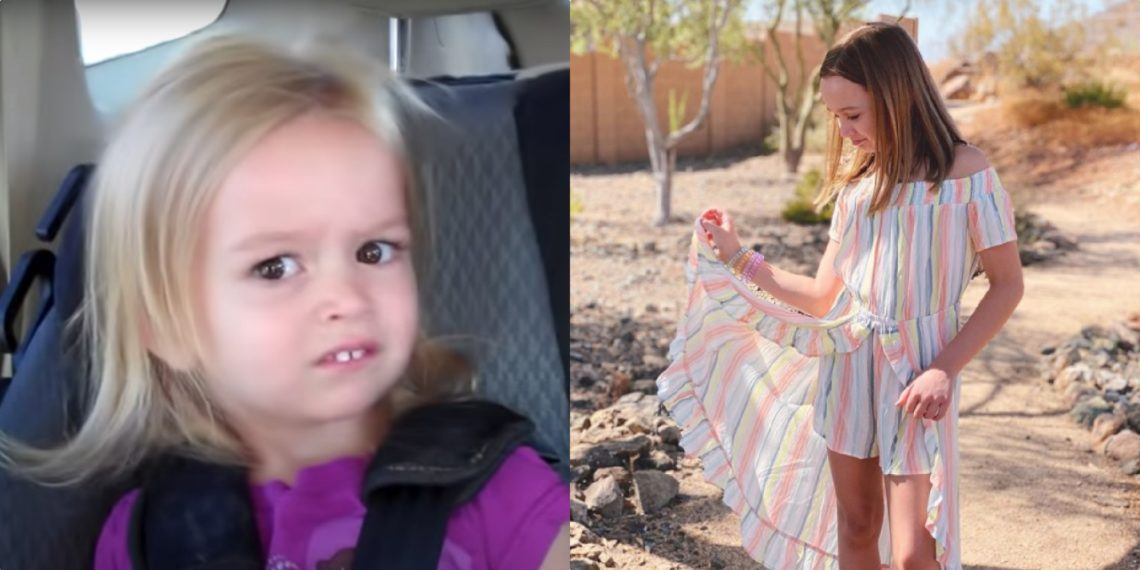 Chloe Clem, meme niña confundida