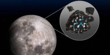 NASA confirma la presencia de agua en la Luna
