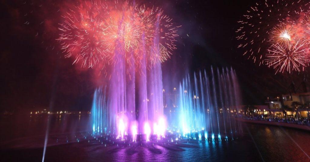 Palm Fountain impuso el récord como la fuente más grande del mundo