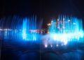 'Palm Fountain' impone el récord como la fuente de agua más grande del mundo.