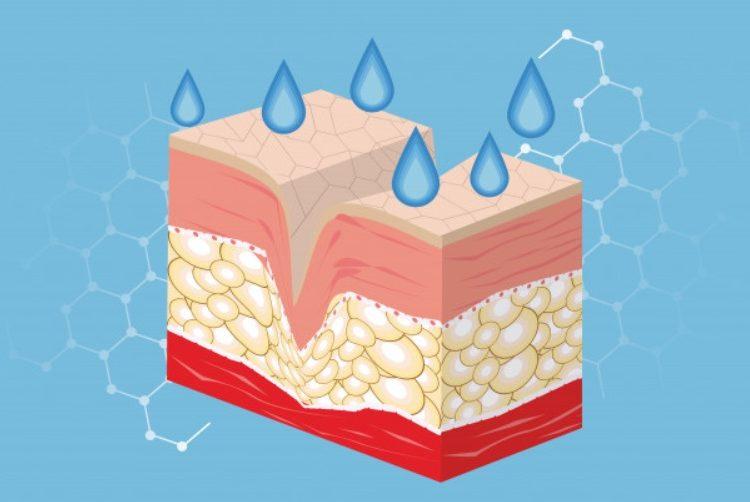 Efecto del gel en la piel