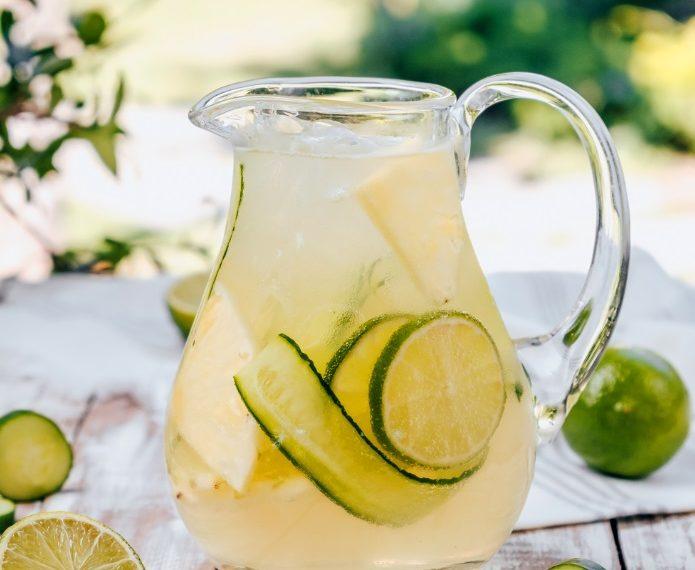 Pepino y limón