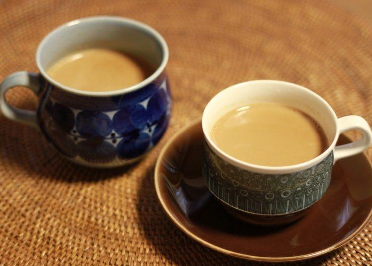 Té chai con vainilla y canela