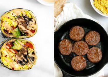 Recetas de burritos saludables para una tarde comidas mexicanas fáciles