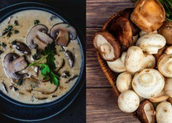Cómo hacer una crema de champiñones saludable y casera