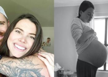 Adoptó cuatro hijos pensando que no podía quedar embarazada y ahora espera cuatrillizos